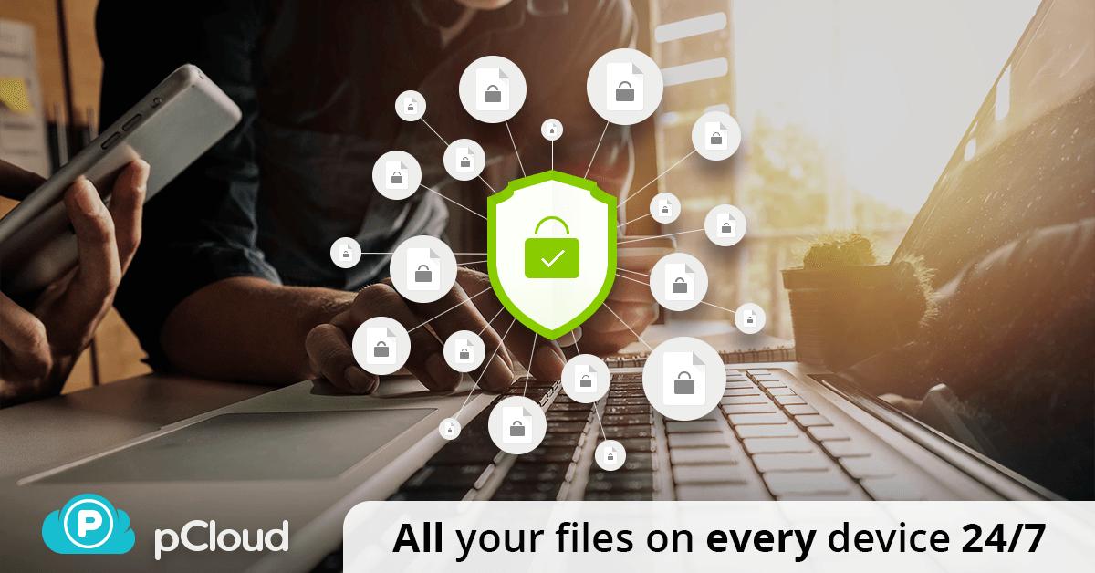 pCloud - Best Secure Encrypted Cloud Storage